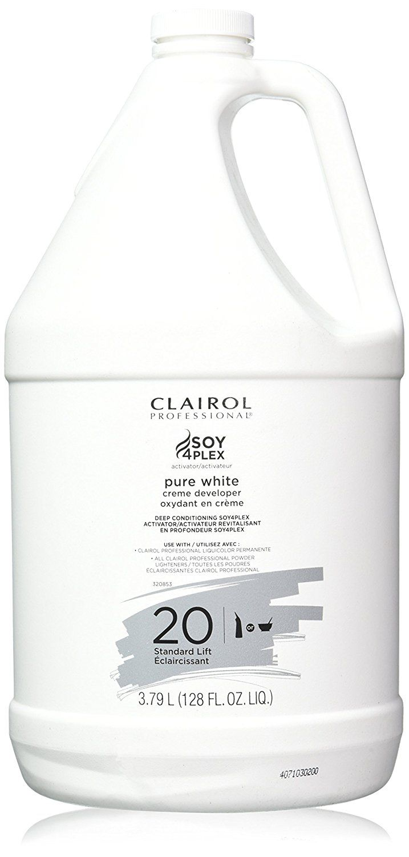 Clairol Professional Soy4plex Pure White Creme Hair Color Developer