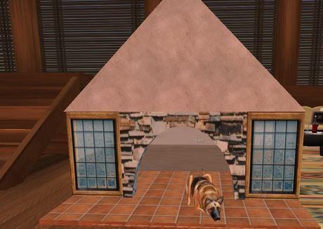 Deluxe Spanish Villa Dog House doghouse