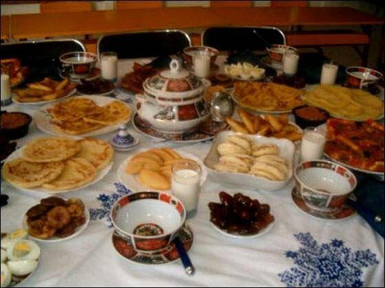 مائدة رمضان Recette Gateau Cuisine