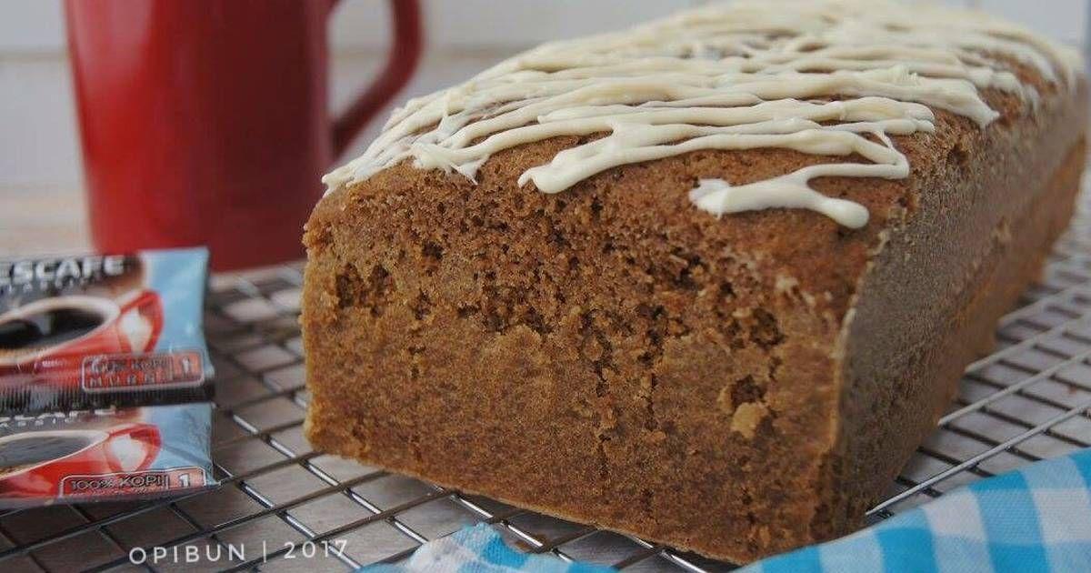 Resep Coffee Cake Bolu Kopi Oleh Opibun Resep Coffee Cake Makanan Enak Makanan