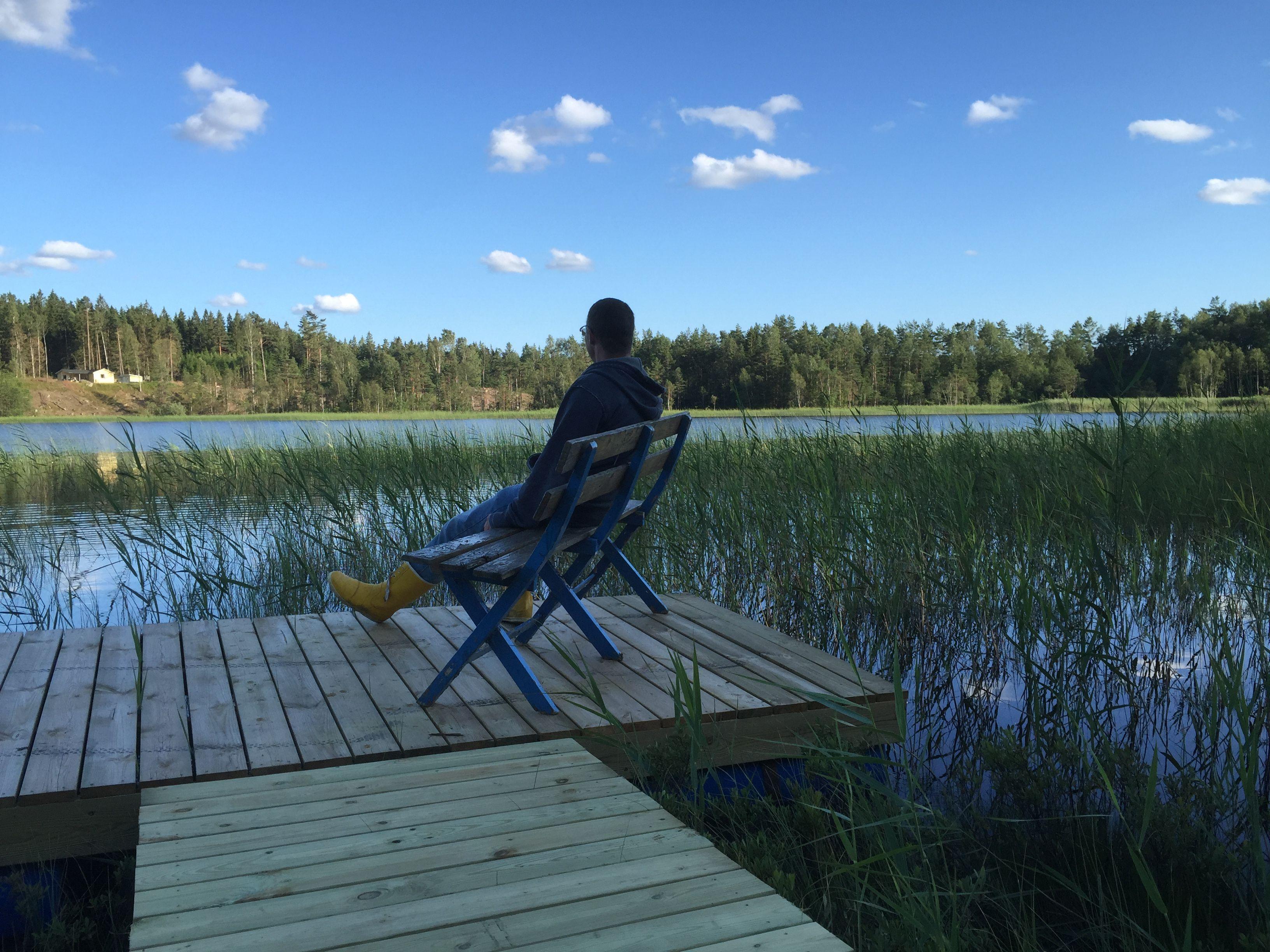 Ferienhaus schweden am see mit boot