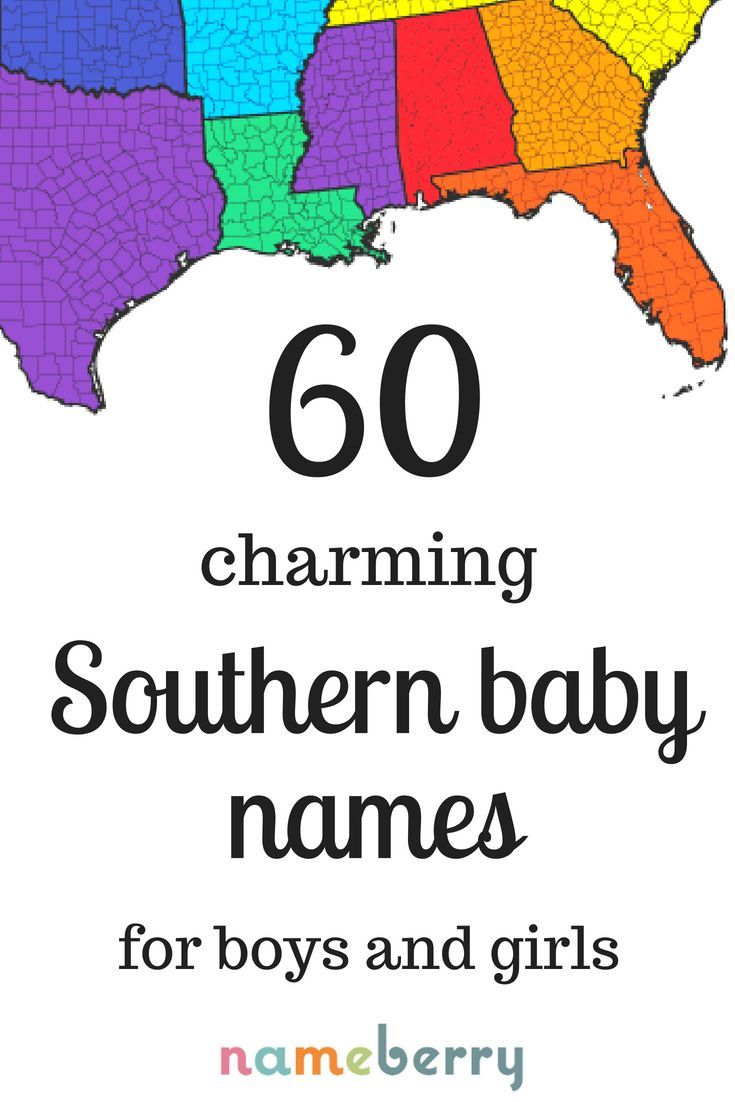 Sweet smart Southern baby names for your little Southern belle or gentleman  Fr