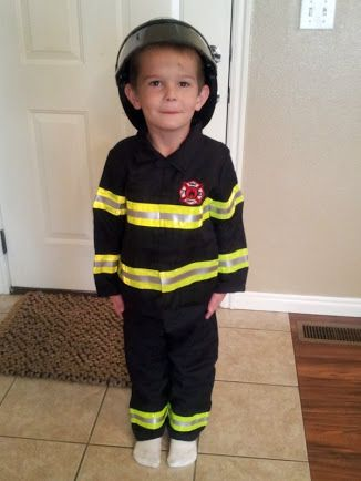3f9e1b2082d41 diy kids firefighter costume - Google Search | Costume Ideas ...