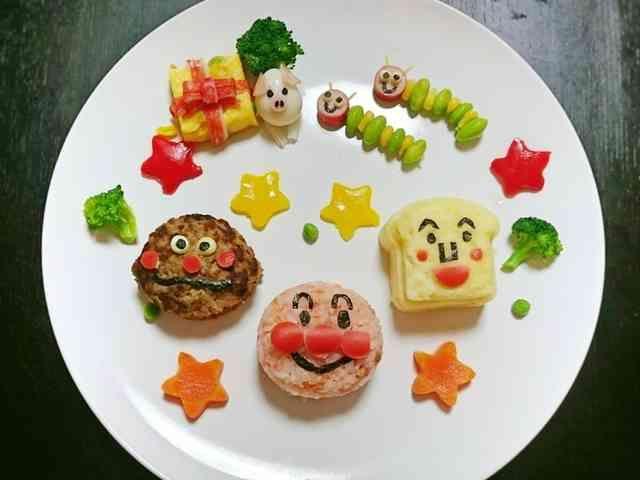 1歳お誕生日プレート アンパンマン By Ak33892 レシピ 誕生日 メニュー 誕生日プレート 2歳 誕生日 料理