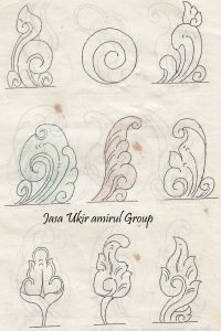 design motif Pola  ukiran  kayu Seni desain dan Seni