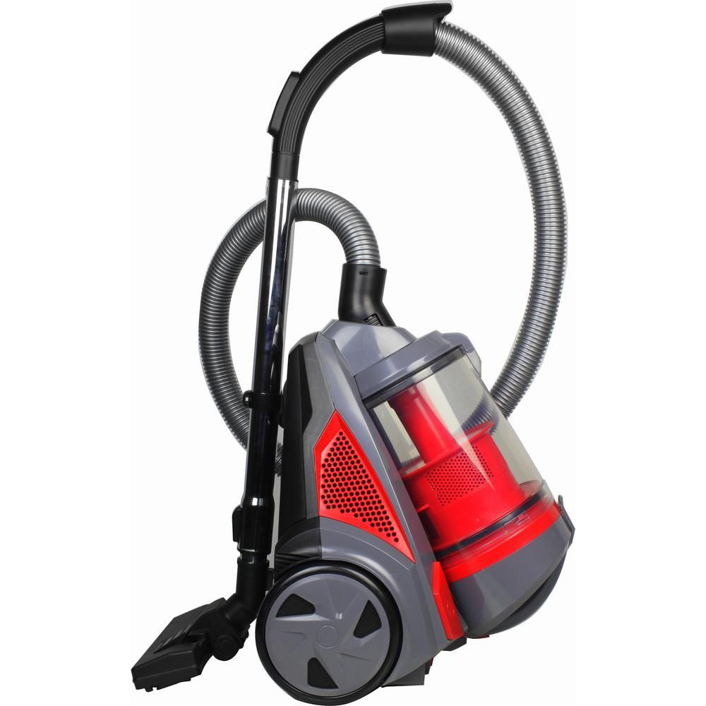 Ovente Cyclonic Bagless Canister Vacuum