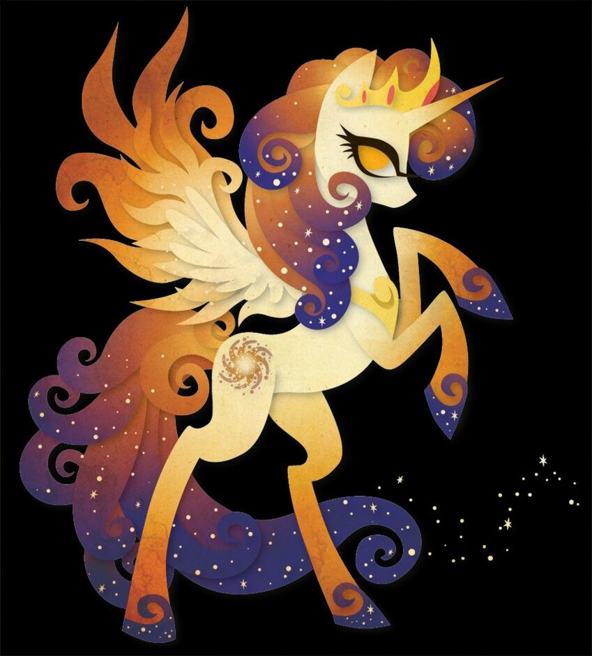Galaxia Queen Galaxia And King Cosmos Unicorn Pony