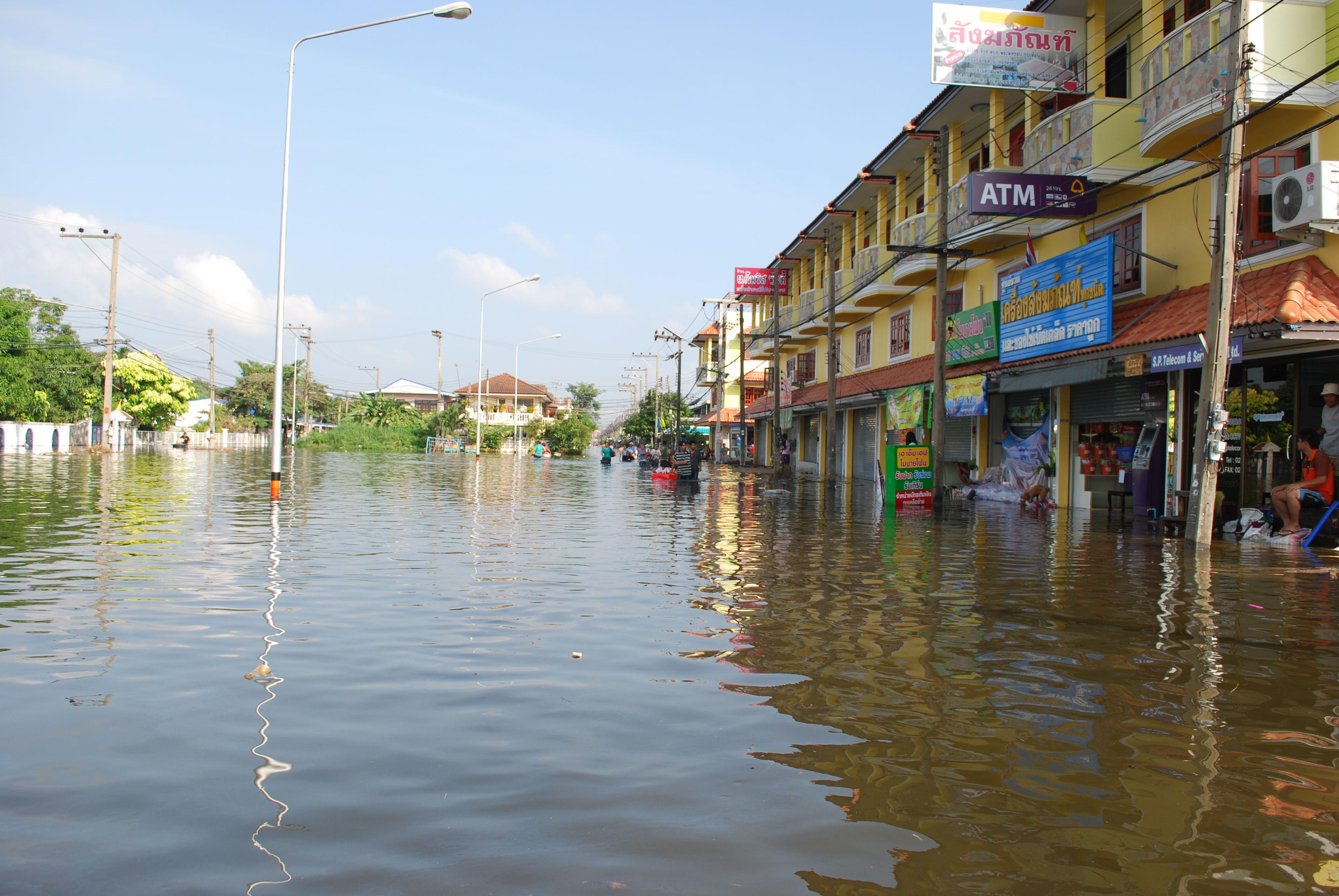 น้ำท่วม 54