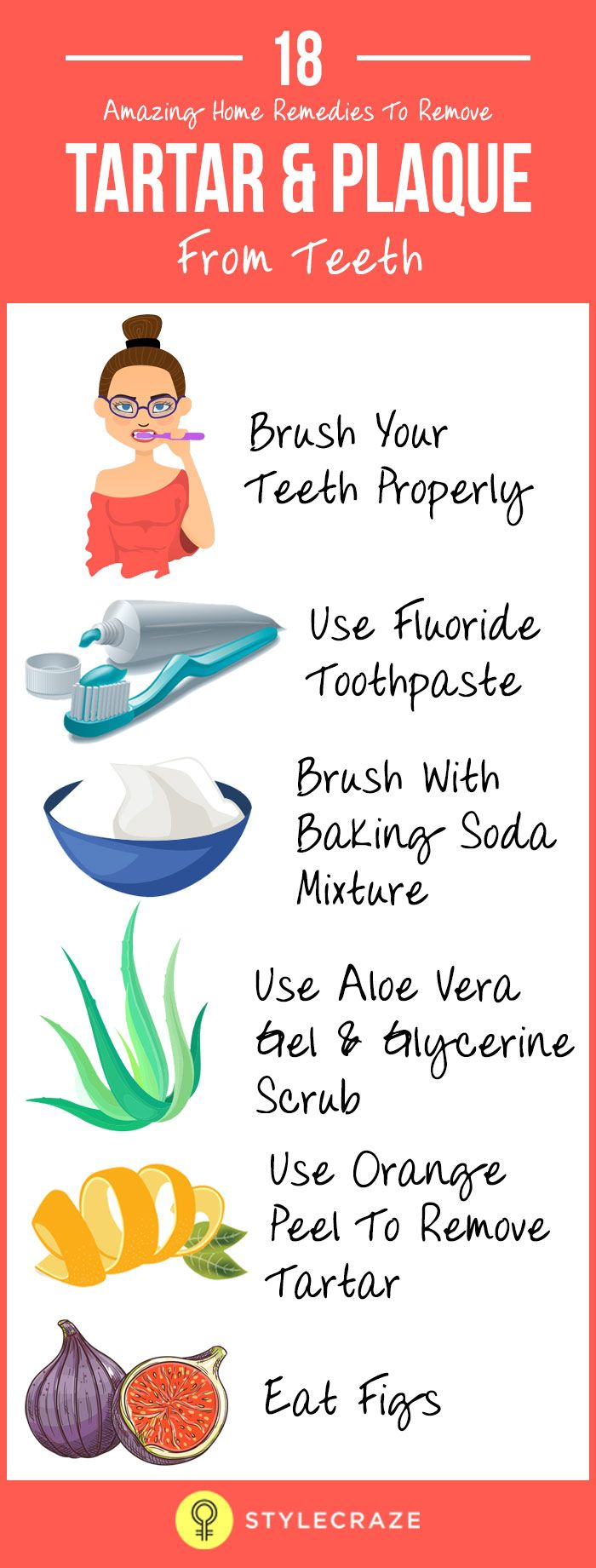 how to get rid of tartar on teeth home remedies