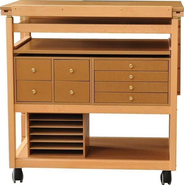 meuble scrapbooking meuble en bois pour loisirs cr atifs rangements pour mat riel de scrap. Black Bedroom Furniture Sets. Home Design Ideas