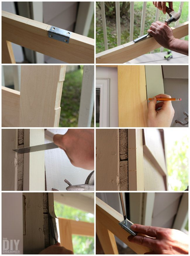 How to Build a Screen Door - DIY Screen Door | Doors, Screens and ...