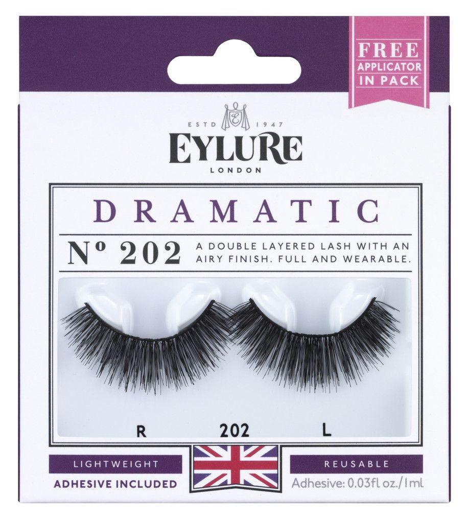 4e4ed146f53 Eylure Dramatic 202 Lashes | Big Lashes | Double lashes, Eyelashes ...
