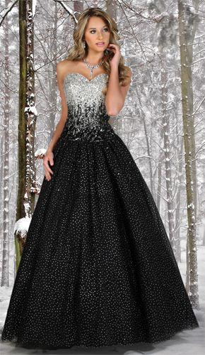 Vestidos negro para 15