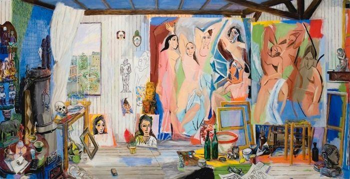 Picasso S Studio Bateau Lavoir Paris 1908 1911
