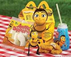 009 Bee movie McDonald's happy meal Shows I love Kids