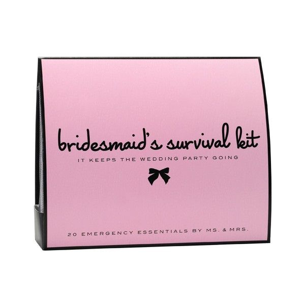 Skin Dimensions Online - Bridesmaid's Survival Kit, $20.00 (http://www.skindimensionsonline.com/products/bridesmaids-survival-kit.html)