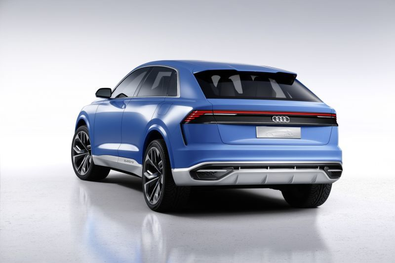 The Audi Q8 Concept Is The Gigantic Luxury Audi SUV The Buyers Demand
