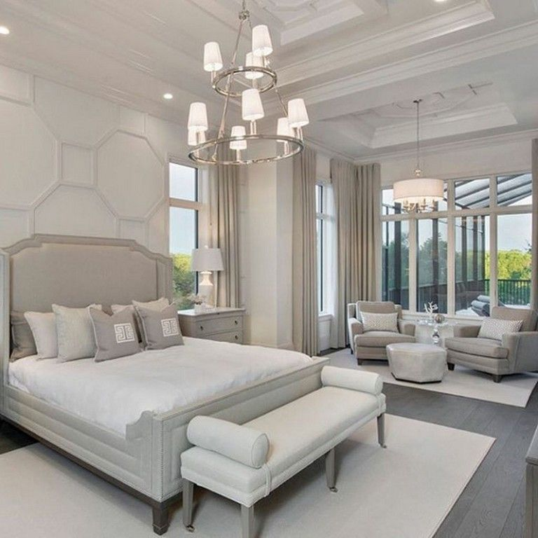 45 Simple Master Bedroom Decorating Ideas Bedroom With Sitting