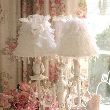Lacey lamps