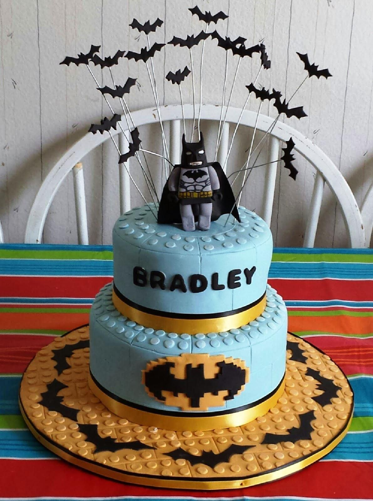 Image Of Lego Batman Birthday Cake Ideas Batman Birthday - Lego batman birthday cake