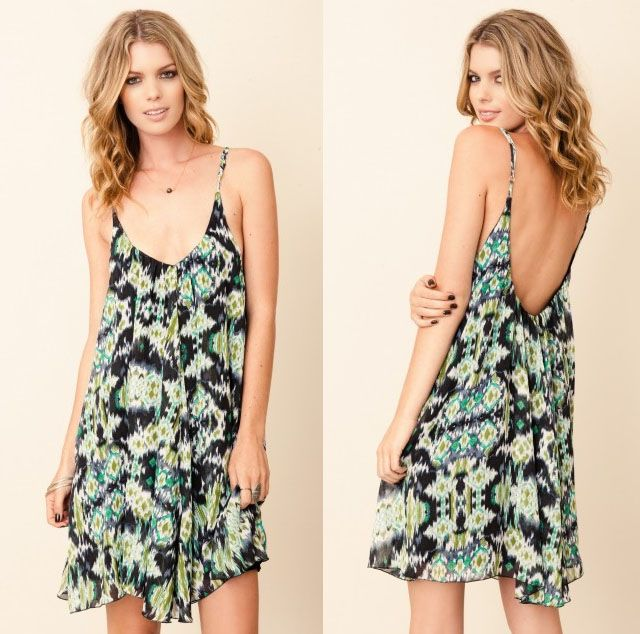 flirty floaty 90's babydol floral dresses