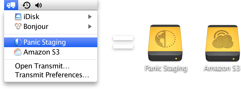 Panic - Transmit - The ultimate Mac OS X FTP + SFTP + S3 app