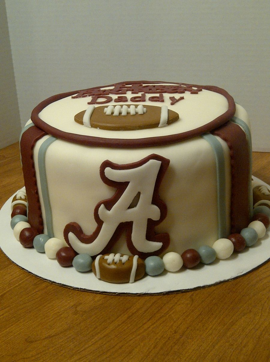 Alabama Crimson Tide Cake Food Pinterest Alabama crimson tide