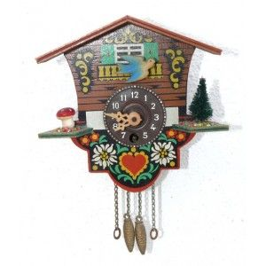 Antiguo Reloj De Cucu Ku Ku Reloj De Cuco Relojes De Pared Antiguos Reloj