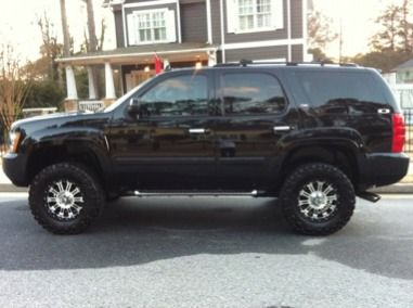 ChevyTahoeZ71Lifted  2007 Tahoe Z71 lifted for sale 26500