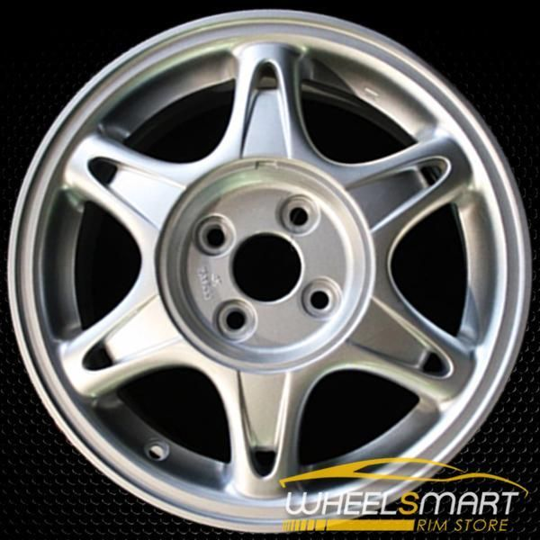 "15"" Acura Integra OEM Wheel 1996 Silver Alloy Stock Rim"