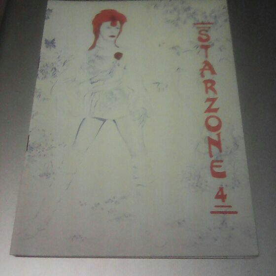 David Bowie 1982 Starzone 4 Editorial Collectible