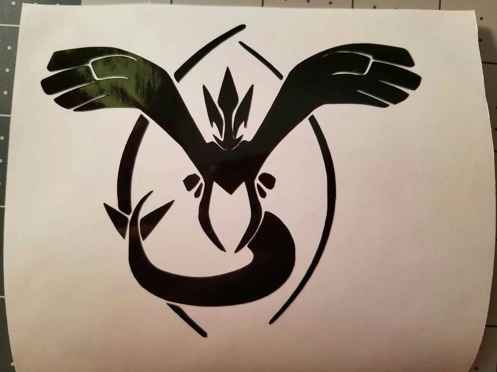 Pokemon go team vinyl decal stickers lugia harmony and ho oh rebirth by mightymorphinhelmets on