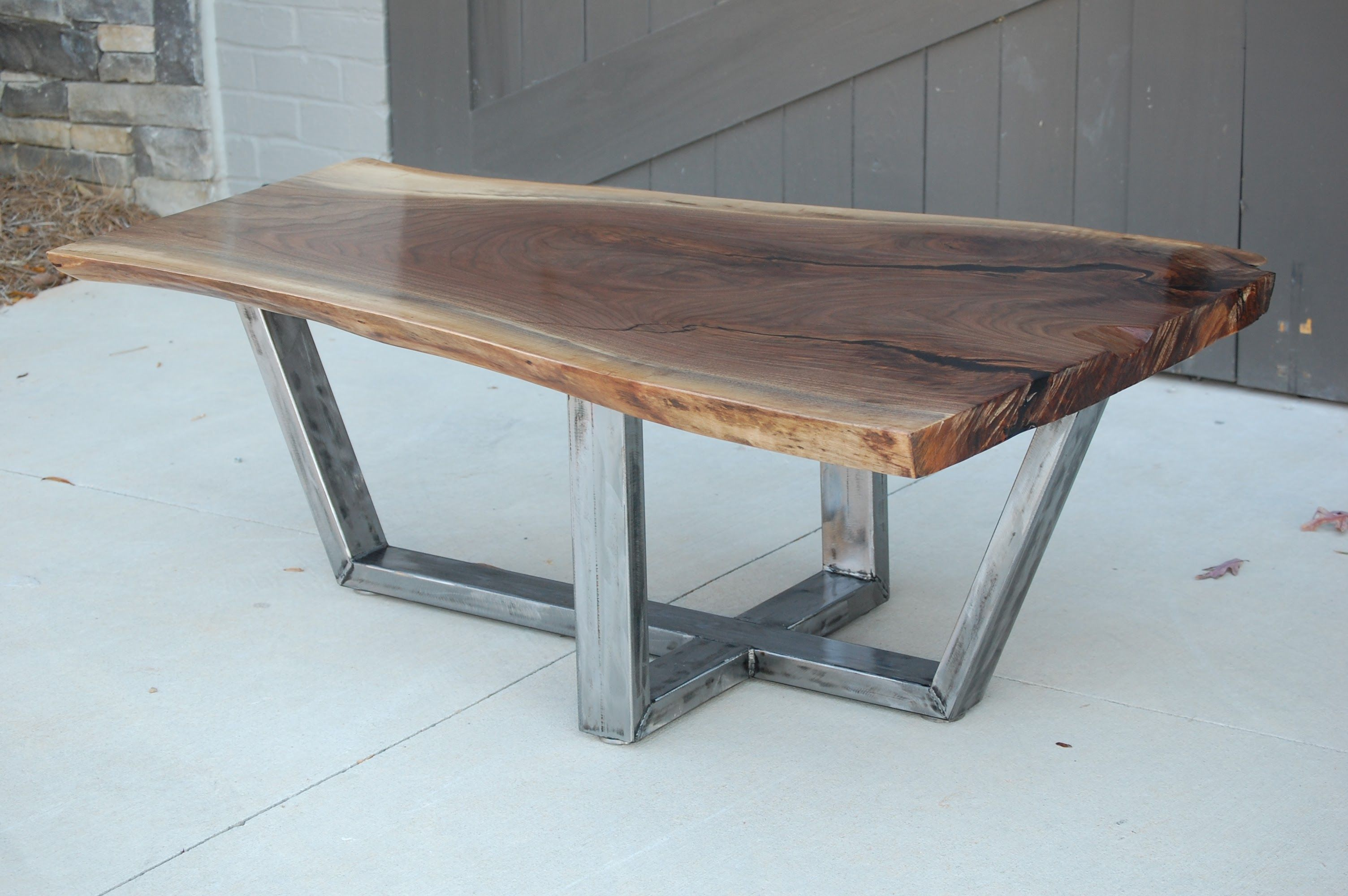 First walnut live edge coffee table httpifttt2frjzda