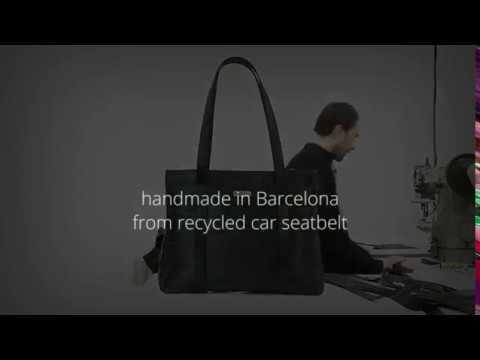 de obtenido elaborado automóvil Bolso cinturón con de seguridad de PSTHf