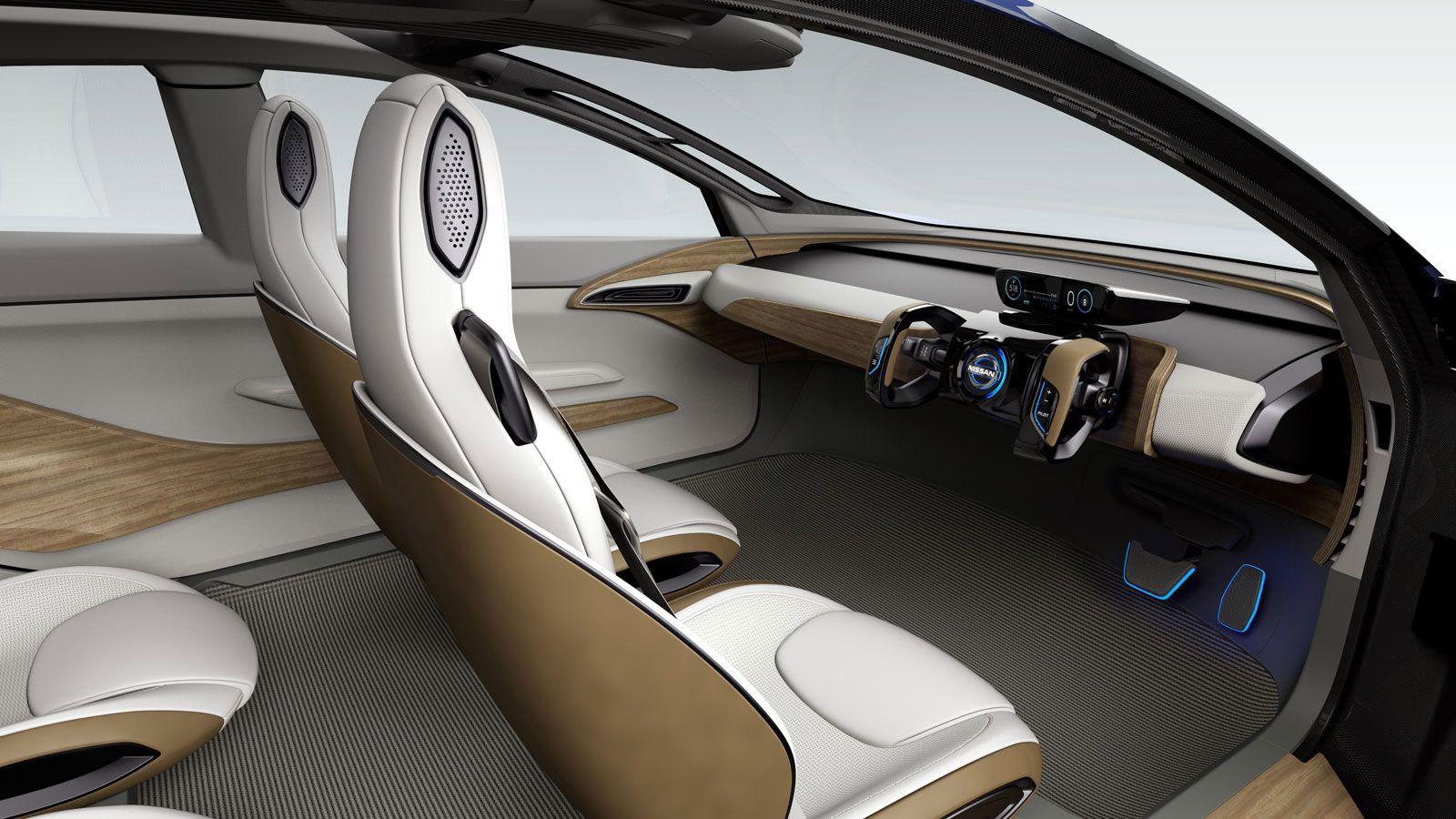 Nissan Ids Concept Interior Nissan Car Car Interior