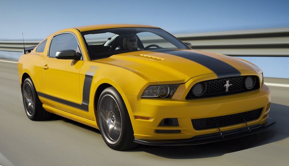 Image result for ford yellow mustang