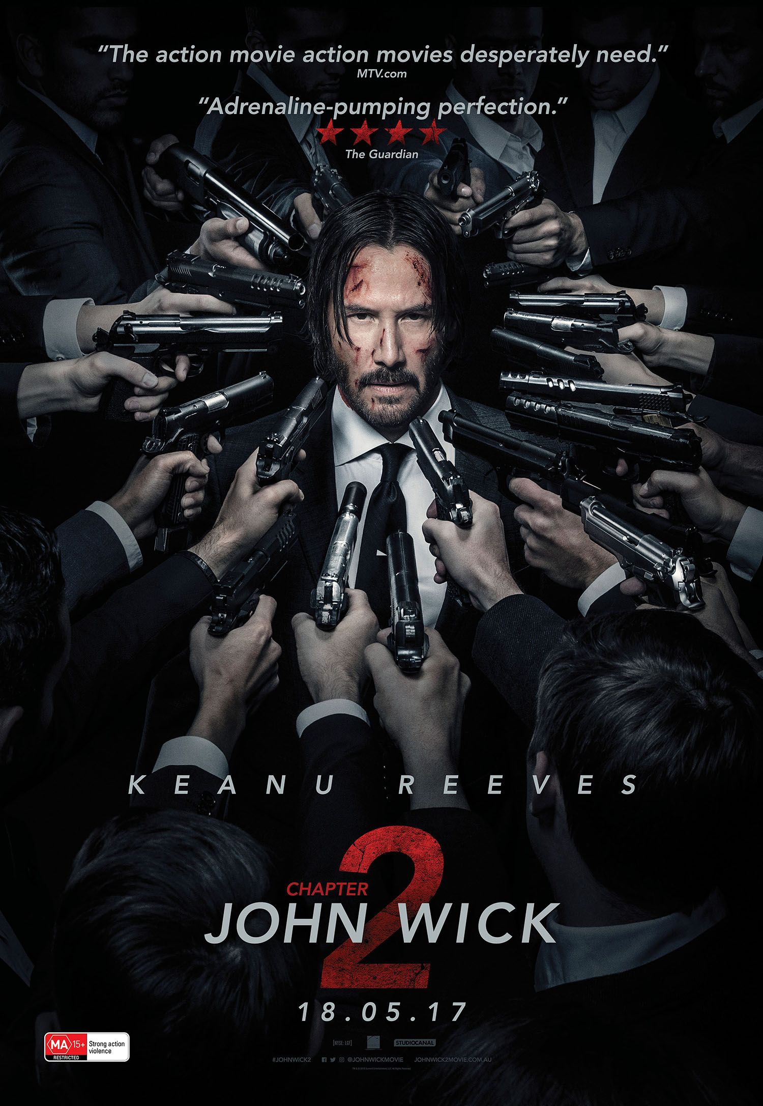 If you loved #JOHNWICK you are going to jizz at JOHN WICK: CHAPTER 2. A perfect instalment in the trilogy that gives you everything you want in a JOHN WICK movie. Out Thursday in Australia. Cannot wait for Chapter 3!!! http://saltypopcorn.com.au/john-wick-chapter-2-review/