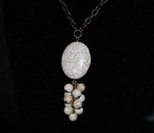 GIFT-GEMSTONE MAGNESITE-NECKLACE | BeautyandtheGems - Jewelry on ArtFire