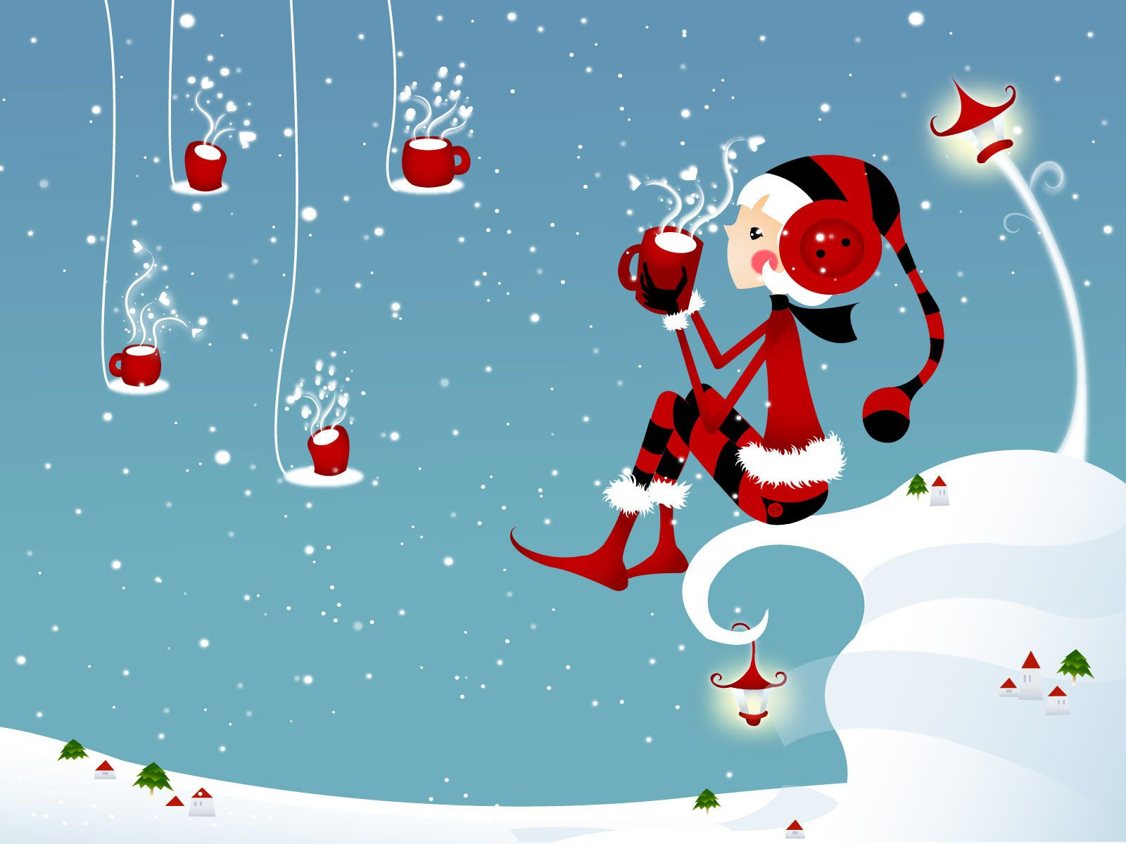 40 Free Animated Christmas Wallpaper for Desktop