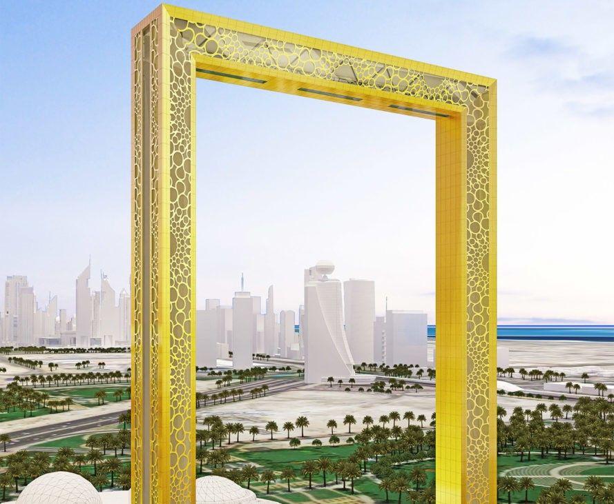 Fernando Donis, Dubai Frame, dubai architecture, dubai skyscrapers, skycraper design, urban design, dubai skyscrapers, dubai skyscape, donis architecture, strange architecture, avante garde skyscrapers, modern skyscrapers, arab emirates, picture frame observatory, architectural lawsuits, design copyright,
