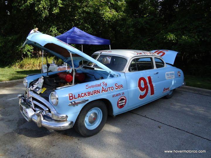 1950s Hudson stock car