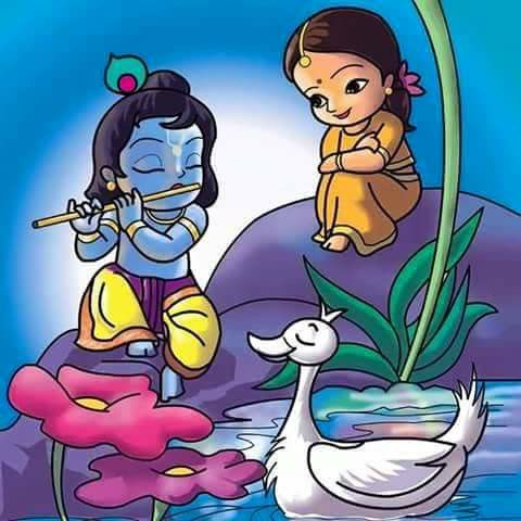 Baby Krishna Radha Krishna Art Krishna Painting Cute Krishna