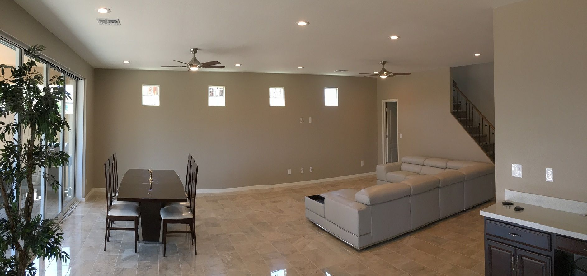 AZ Recessed Lighting installation of LED lights and ceiling fans. AZ ...