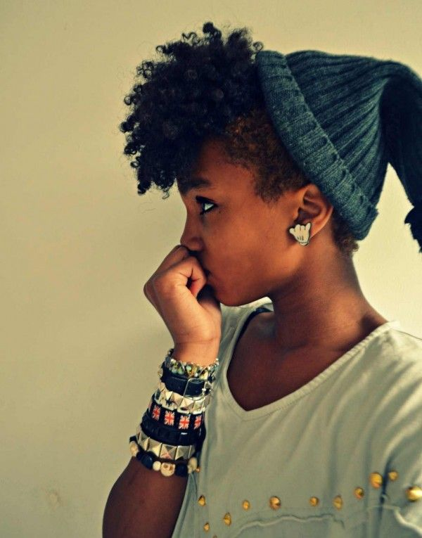 3e01e4ac7d4 5 Ways to Rock a Beanie on Your Natural Hair this Winter