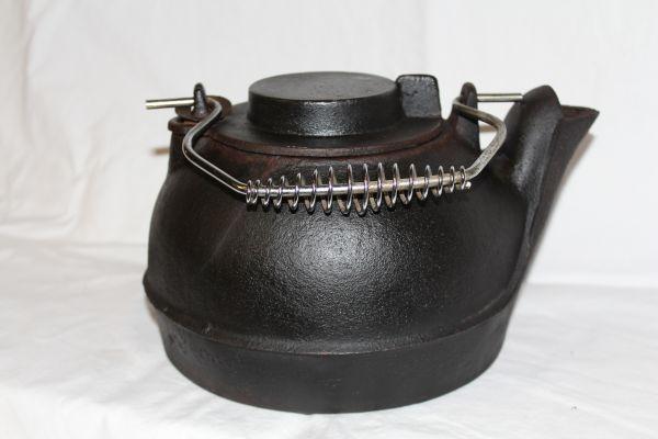 Cast Iron Tea Kettle $10