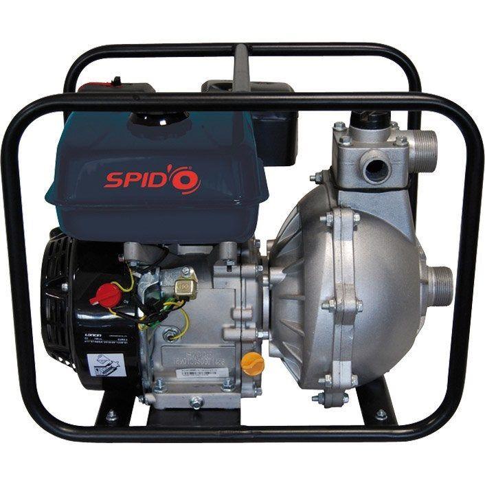 Motopompe Thermique 4 Temps Spido 2835 25000 L H Pompe Arrosage Surpresseur Et Pompe Immergee