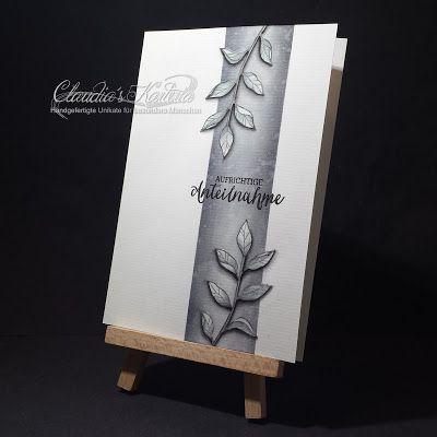 Claudia's Karteria: Blätter auf Banner | Leaves on banner