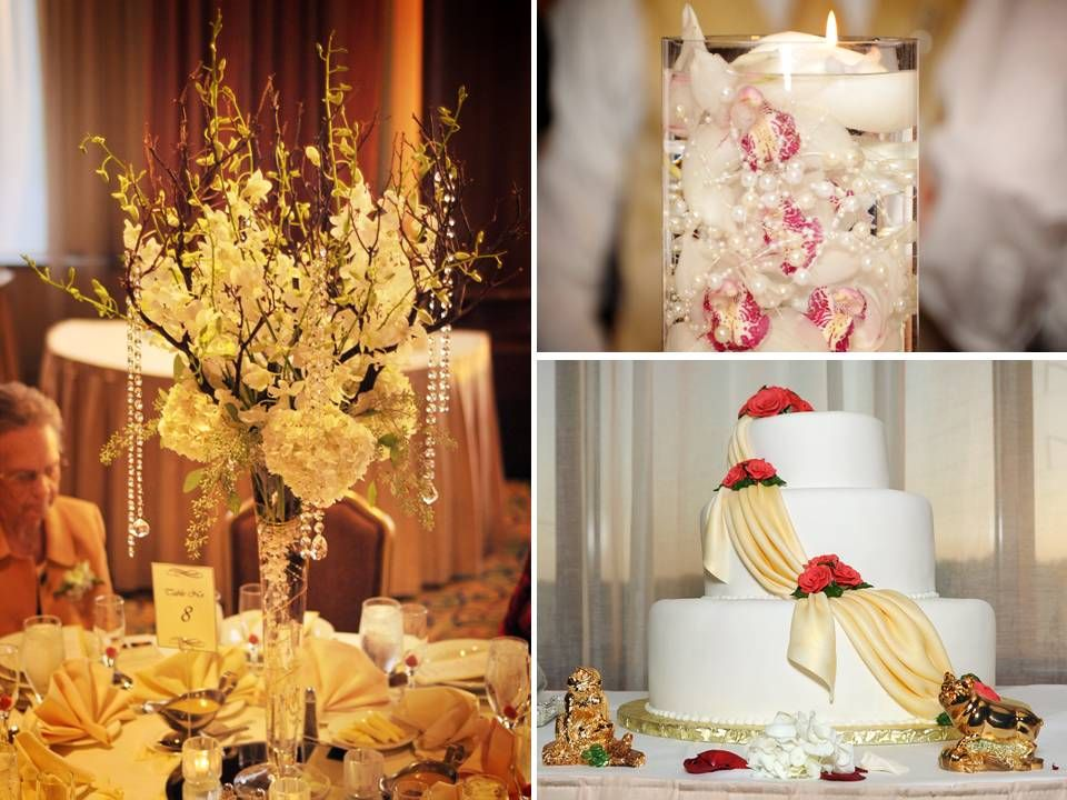 Pictures Of Red Roses Centerpieces Rose Bridal Boutique Clic Wedding Cake Flower Sheils Paint The Town Pinterest