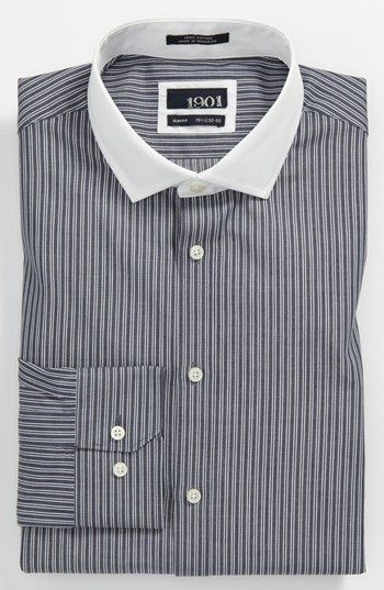 1901 Slim Fit Dress Shirt Nordstrom Fashion Slim Fit Dress