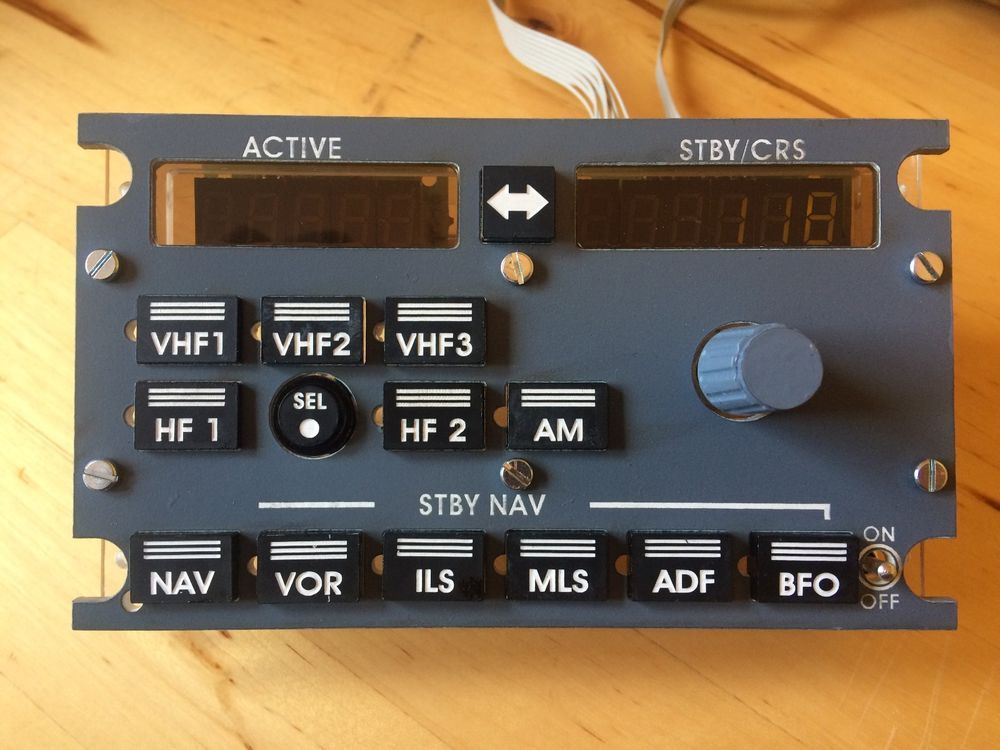 Airbus A320 Radio Navigation Panel (FLIGHT SIMULATION